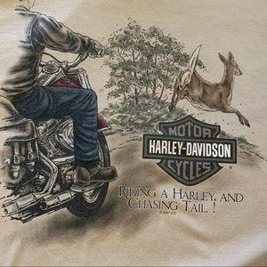 Harley Davidson Virginia Deer Richmond tshirt